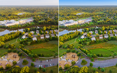 Aerial Photo Editing Services